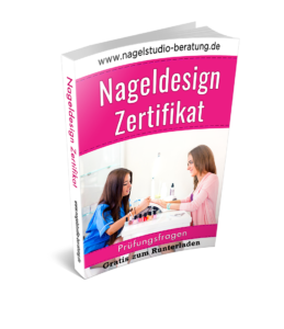 Nageldesign Zertifikat